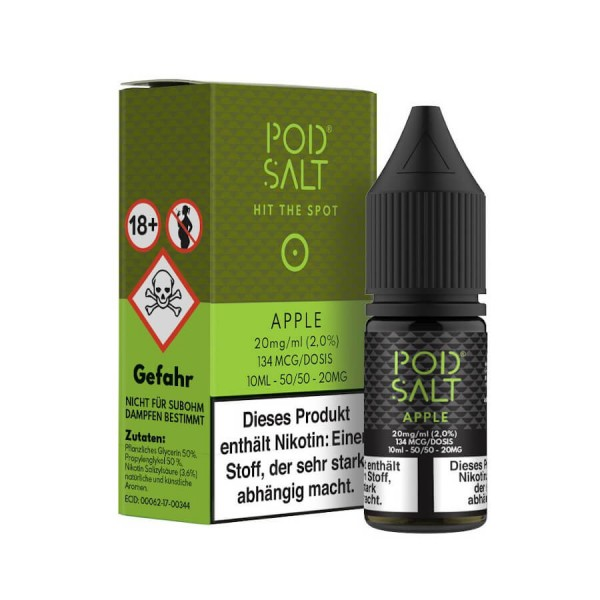 Pod Salt - Apple